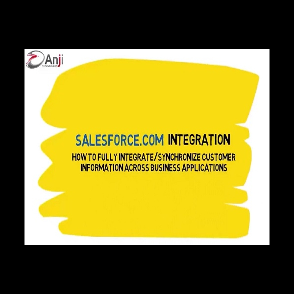 Salesforce Integration across Business Applications